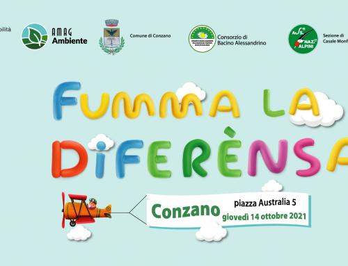 Grande successo a Conzano per 'Fumma la Diferènsa' di AMAG Ambiente