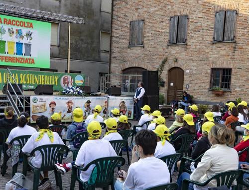 AMAG Ambiente: grande successo a Fubine Monferrato per la prima Giornata della Sostenibilità. Fra i testimonial anche il Presidente dei Grigi Di Masi
