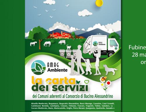 AMAG Ambiente: presentata a Fubine Monferrato la Carta dei Servizi dei comuni aderenti al Consorzio di Bacino Alessandrino