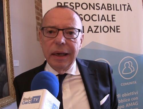 Il Gruppo AMAG premiato a Roma come impresa Welfare Champion dal Presidente del Consiglio Giuseppe Conte