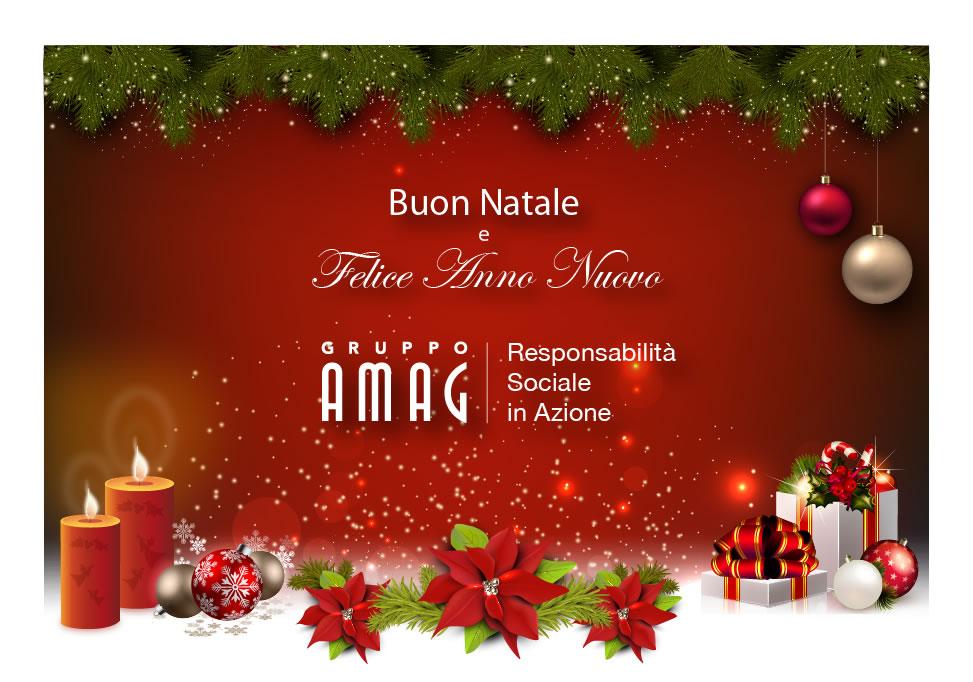 Gli Auguri Di Natale.Buon Natale Dal Gruppo Amag Auguri Di Buon Natale E Felice
