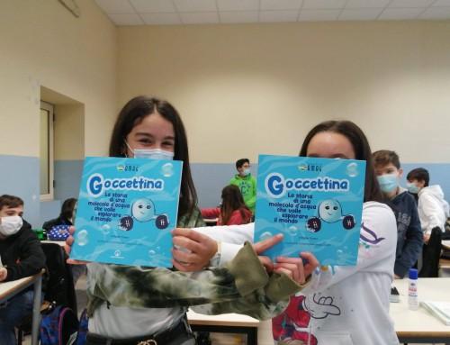 """AMAG Reti Idriche: laboratori didattici """"Goccettina"""""""