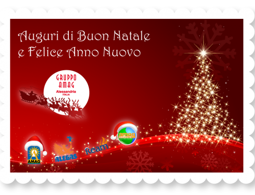 Buon Natale dal Gruppo Amag